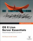 OS X Lion Server Essentials