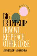 Pdf Big Friendship Telecharger
