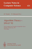 Algorithm Theory   SWAT  92