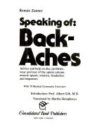 Speaking of Back-aches ebook