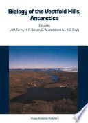 Biology of the Vestfold Hills  Antarctica