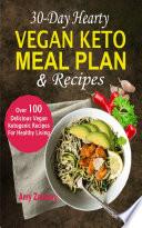 30 Day Hearty Vegan Keto Meal Plan   Recipes