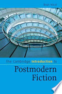 The Cambridge Introduction To Postmodern Fiction Book PDF