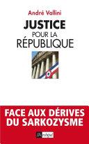 Justice pour la république