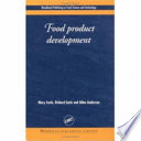 Food Product Development Book