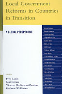 Local Government Reforms In Countries In Transition Book