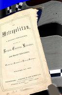 The Metropolitan ebook