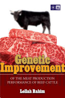 Genetic imporvement of the meat production performance of beef cattle