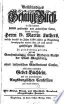 Vollständiges Gesang-Buch