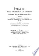 Boilers Their Construction And Strength A Handbook Of Rules Formulae Tables