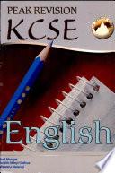 Peak Revision K C S E English