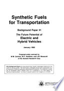 The Future Potential of Electric and Hybrid Vehicles