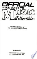 Official Price Guide to Music Collectibles