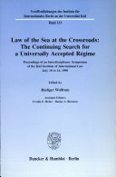 Pdf Law of the sea at the crossroads Telecharger
