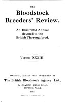 The Bloodstock Breeder s Review