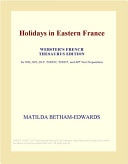 Holidays in Eastern France  Webster s French Thesaurus Edition