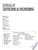 Journal of Geotechnical Engineering
