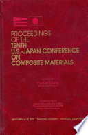 Proceedings of the Tenth U.S.-Japan Conference on Composite Materials