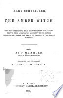 Mary Schweidler, the Amber Witch