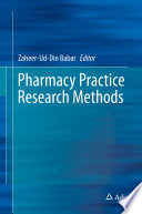 Pharmacy Practice Research Methods