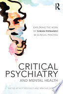 Critical Psychiatry And Mental Health