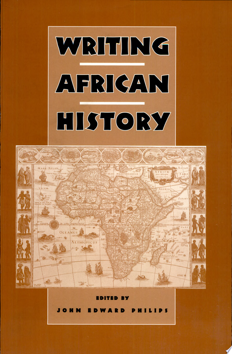 Writing African History banner backdrop