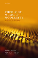 Theology  Music  and Modernity