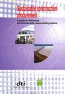 Sustainable Construction Procurement Book