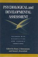 Psychological and Developmental Assessment