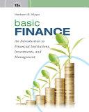 Basic Finance + Mindtap Finance, 2-term, 12 Month Printed Access Card