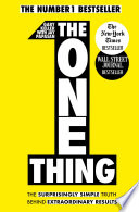 The One Thing Book PDF