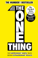 The One Thing Pdf/ePub eBook