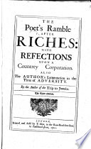 The Poet's Ramble after Riches; or, a night's transactions upon the road, burlesqu'd. By E. Ward Pdf/ePub eBook