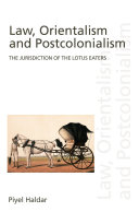 Pdf Law, Orientalism and Postcolonialism Telecharger