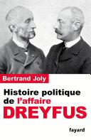 Pdf Histoire politique de l'affaire Dreyfus Telecharger