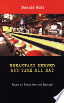 Breakfast Served Any Time All Day