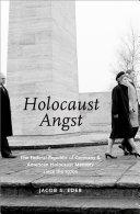 Holocaust Angst Pdf/ePub eBook