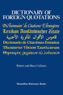 Pdf Dictionary of Foreign Quotations