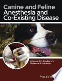 Canine And Feline Anesthesia And Co Existing Disease Book PDF