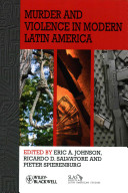 Murder and Violence in Modern Latin America