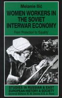 Women Workers in the Soviet Interwar Economy