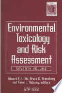 Environmental Toxicology And Risk Assessment Book PDF