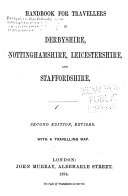 Handbook for Travellers in Derbyshire  Nottinghamshire  Leicestershire  and Staffordshire