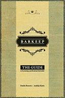 Barkeep Book