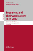Sequences and Their Applications    SETA 2012