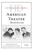 Pdf Historical Dictionary of American Theater Telecharger