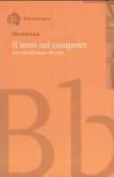 Il testo nel computer