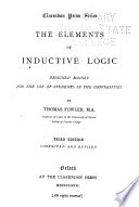The Elements of Inductive Logic, Designed Mainly for the Use of Students in the Universities