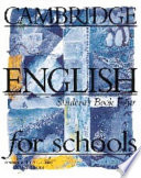 Cambridge English for Schools 4 Student's