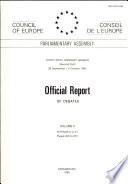 Official Report of Debates Volume Ii